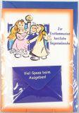 Kommunionkarte - Kinder & Kuvert