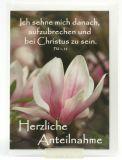 Trauerkarte - Bei Christus sein