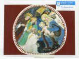 Weihnachtskarte - Anbetung der Könige & Fresko