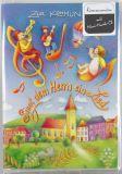 Kommunionkarte - Musik-CD & Kinder auf Noten