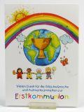 Kommunionkarte - Danksagung & Kinderreihe