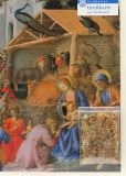 Weihnachtskarte - Anbetung der Könige & Weihrauch Dreikönige