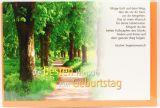 Karte zum Geburtstag - Wunsch für deine Lebensreise - Karten,Weltliche Anlässe,Geburtstagskarten,Karten mit Foto-Motiv