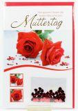 Karte zum Muttertag - Rosen