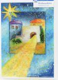 Weihnachtskarte - Das Licht von Bethlehem