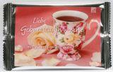 Teekarte - Liebe Geburtstagsgrüße