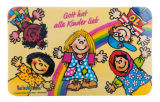 Frühstücksbrettchen - Gott hat alle Kinder lieb - Kleinigkeiten,Tassen & Gläser