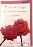 Vermählungskarte - Liebe ist
