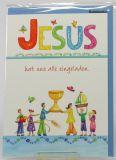 Kommunionkarte - Jesus...