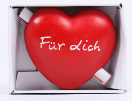 Holzherz - Für Dich & Gutschein