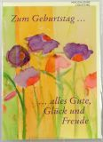 Geburtstagskarte - Glück & Freude