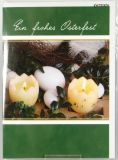 Osterkarte - Osterkerzen