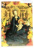 Weihnachtskarte - Maria im Rosenhag