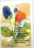 Geburtstagskarte - Tulpen