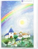 Kommunionkarte - Regenbogen & Sonne