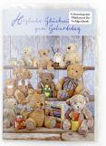 Geburtstagskarte - Teddybären