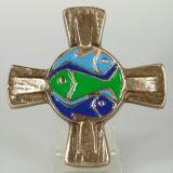 Bronzekreuz - Fische