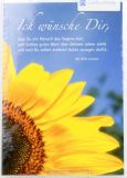 Geburtstagskarte - Große Sonnenblume