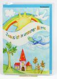 Kommunionkarte - Sonne & Taube