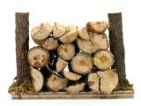 Krippenzubehör - Holzstoß