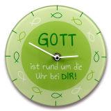 Wanduhr - Rund um die Uhr...