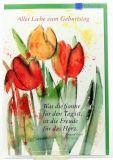 Geburtstagskarte - Freude für das Herz