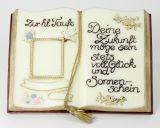 Wachsbuch - Zur Taufe