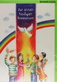 Kommunionkarte - Kinderkreis & Regenbogen