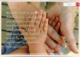 Taufkarte - Gemeinsam durchs Leben