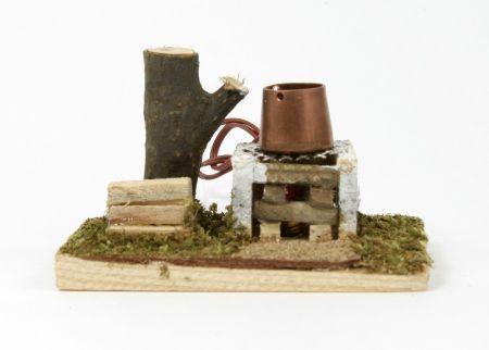 Krippenzubehör - Kochstelle Topf