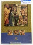 Weihnachtskarte - Geburt Christi v. Luini & Blau