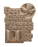 Haussegen - Herr behüte dieses Haus & Bronze