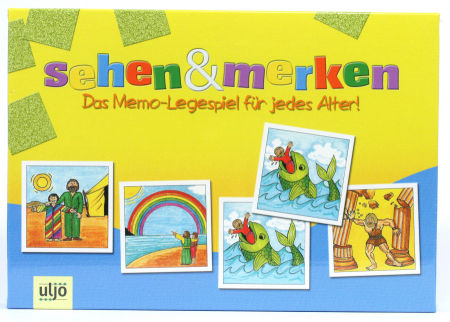Gesellschaftsspiel - Memory & Bibelgeschichten