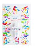 Karte zur Erstkommunion - Bunte Hände & Handschmeichler - Karten,Religiöse Anlässe,Kommunionkarten,Karte & Kleinigkeit,Karte & Kreuz