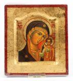 Ikone - Mutter Gottes von Kasan