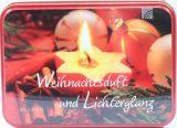 Teedose - Weihnachtsduft und Lichterglanz