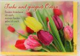Osterkarte - Frieden hinterlasse ich euch
