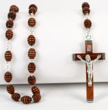 Rosenkranz - Dunkle Perle & Verziert