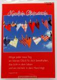 Geburtstagskarte - Lächeln in dein Herz