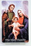 Rosenkranzkarte - Heilige Familie