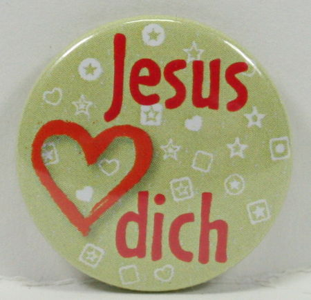 Anstecker - Button & Herz