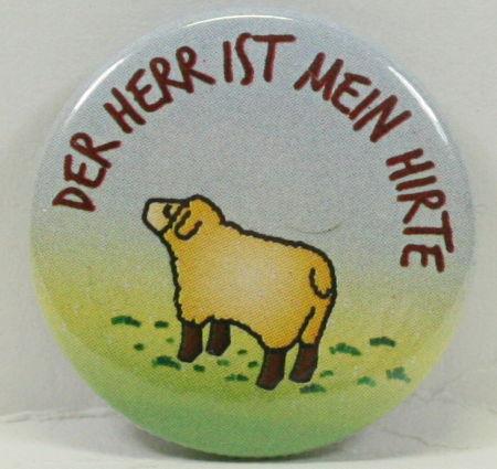 Anstecker - Button & Schaf