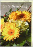 Genesungskarte - Blumen