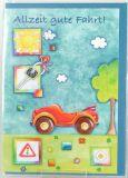 Karte zum Führerschein - Bobbycar