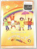Kommunionkarte - Musik-CD & Regenbogen