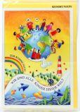 Kommunionkarte - Kinder dieser Welt