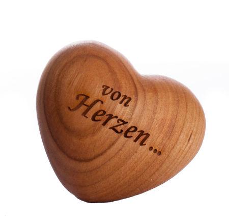 Handschmeichler-Herz - Von Herzen