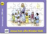 Puzzle - Jesus hat alle Kinder lieb