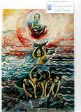 Karte - Jünger im Meer