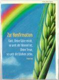 Konfirmationskarte - Regenbogen